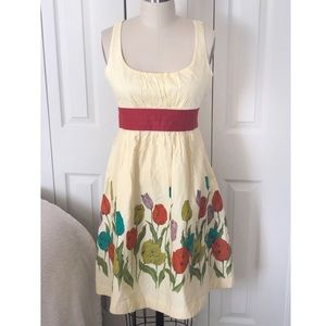 Anthropologie Maeve Wye Valley Tulip Dress